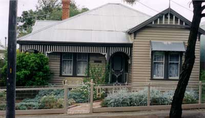 Woven Wire Fence and Feature Posts