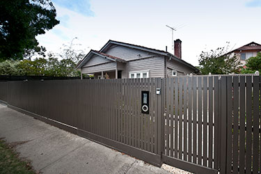 Contemporary picket fence